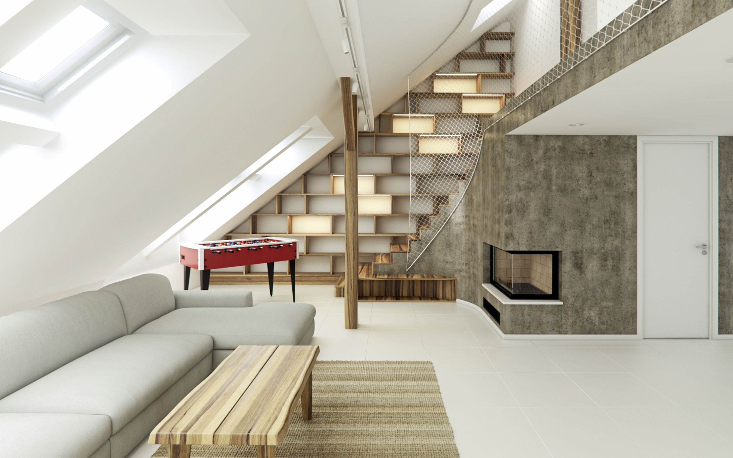Rounded Loft Rendering Services